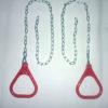 Anneaux de gymnaste – chaines plaquées