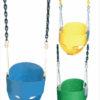 Siège pour bébé avec chaines plastifiées – commerciale